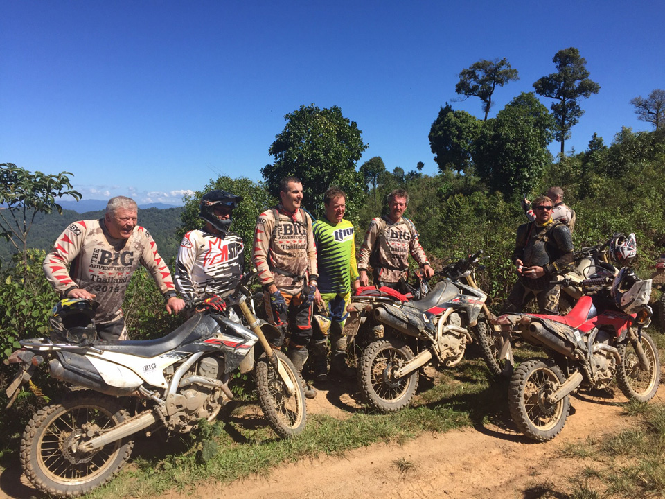 Our Thailand Dirt Bike Adventure riders - October 2015