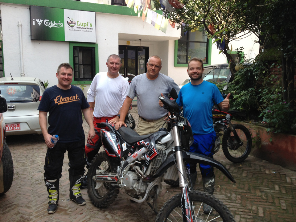 Nepal Dirt Bike Adventure - September 2015
