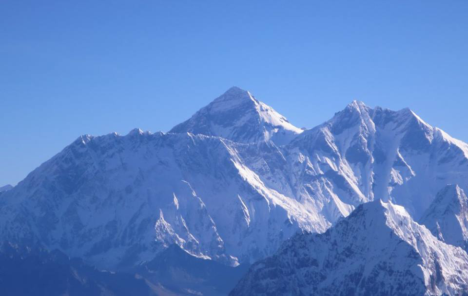 We were blessed with incredible clear views of Mt Everest, Lhotse Peak and the Tibetan Plateau