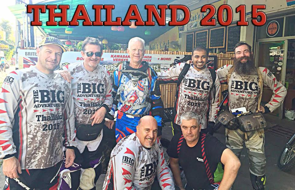 Thailand Dirt Bike Adventure - October 2015